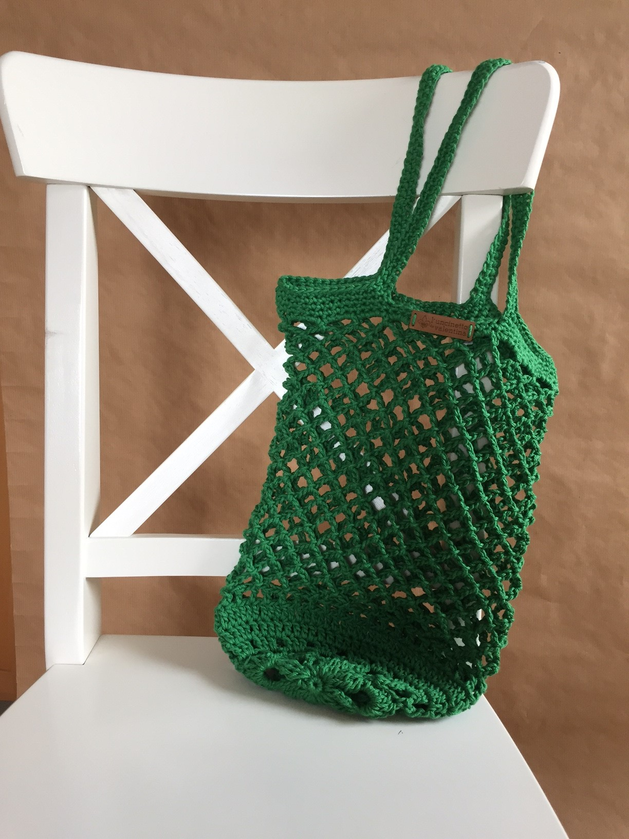 Es grünt so grün… Ein kleiner Leitfaden zum häkeln von Netztaschen ...