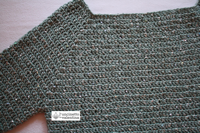 Anleitung zum Pullover häkeln | valentinahaekelt - Noch ein Häkelblog